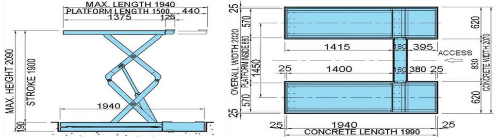 AMT611 Dimensions